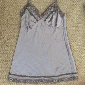 Victoria's Secret Muted Lavender Slip-Nightgown